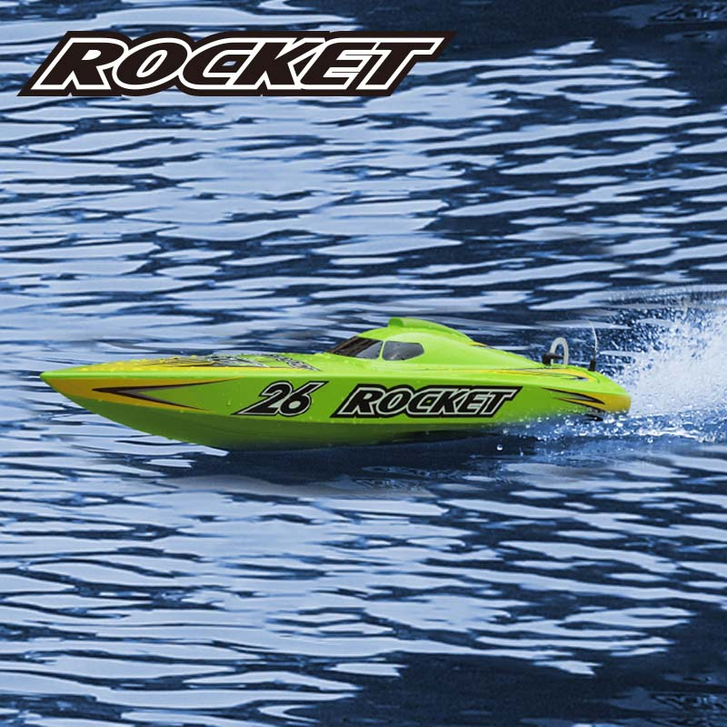 Scale Model ARTR Deep Vee Speed Boat Rocket 8601