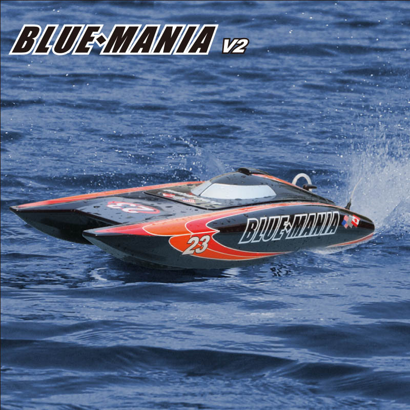 Hobby Artr Brushless Power Catamaran Speed Boat Blue Mania Joysway