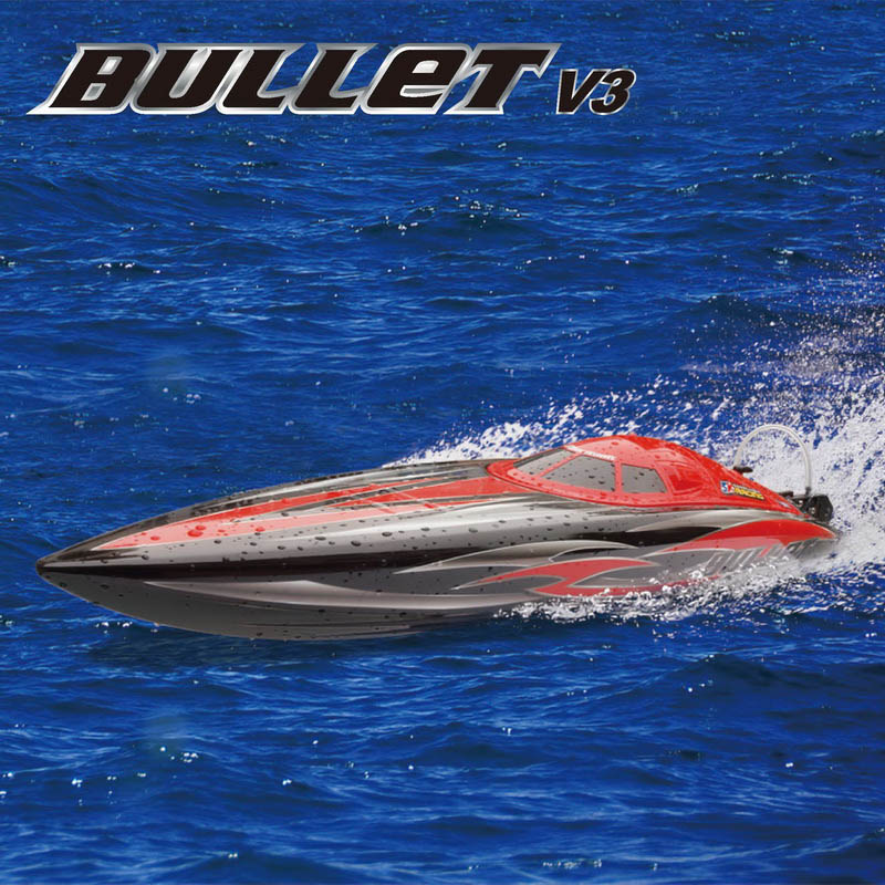 Big Brushless Power Speed Boat for Sale Bullet 8301