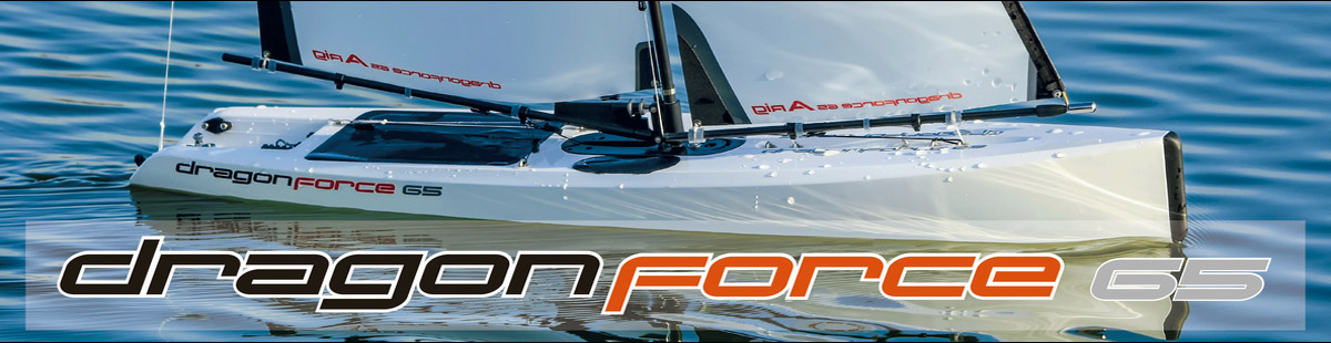 Radio Controlled Sailboat Dragon Force 65