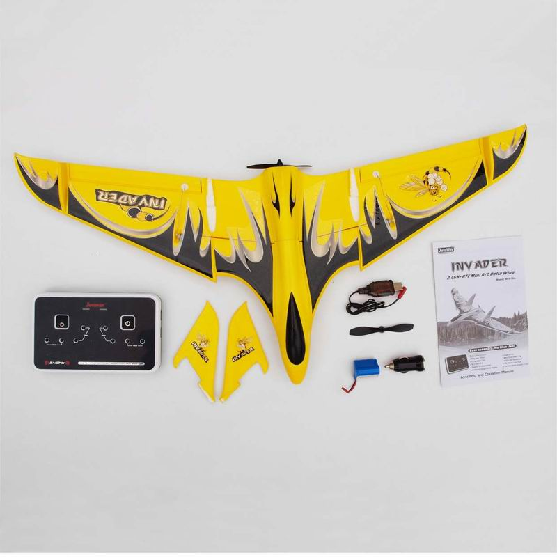 Packages of Cool Mini RTF RC Flying Delta Wing for Sale Inv Ader 6104