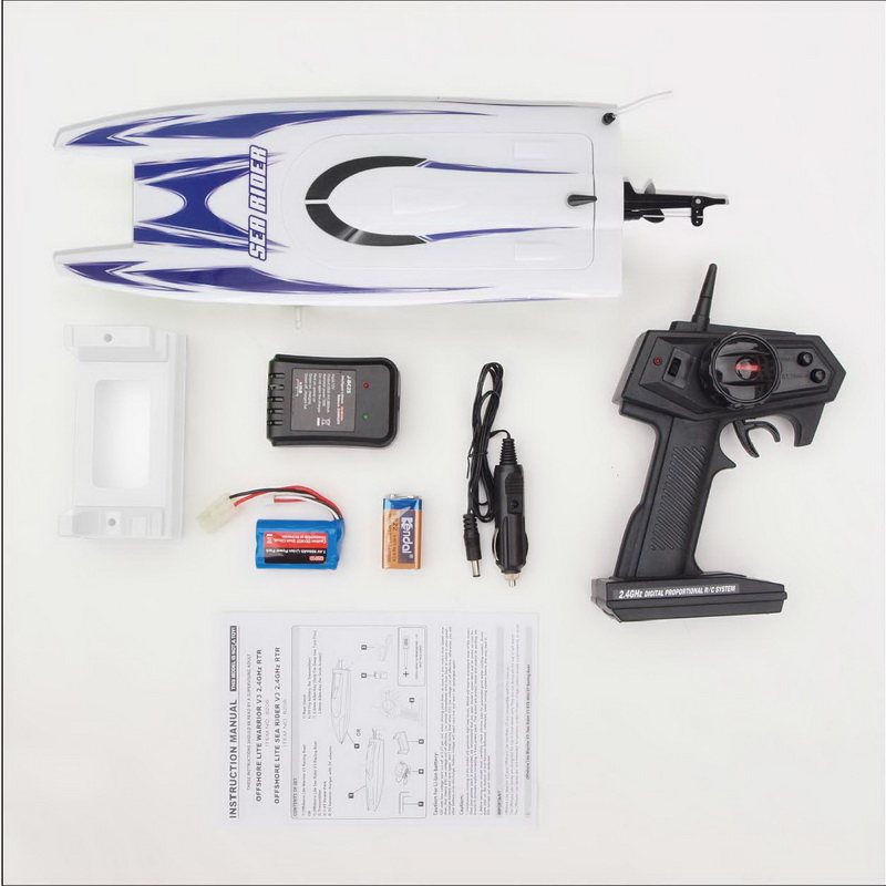 Packages of Good RTR Radio Control Speed Boat Sea Rider 8208