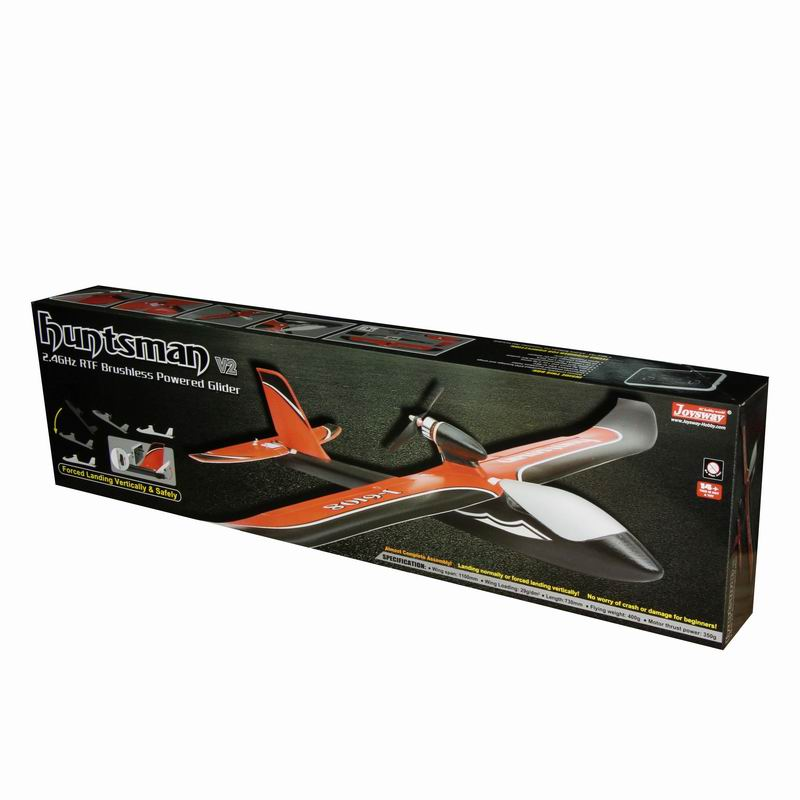 Color Box of Best Electric RC RTF Glider Airplane Huntsman 6108