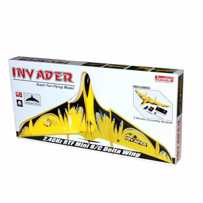 Inner Packing of Cool Mini RTF RC Flying Delta Wing for Sale Inv Ader 6104