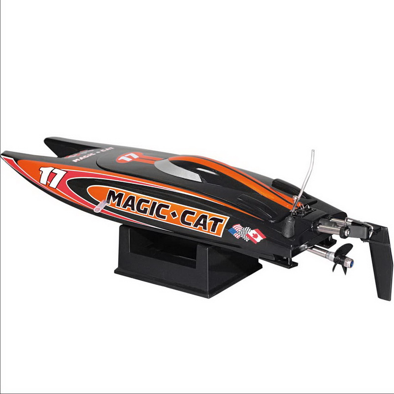 Tiny Micro RTR RC Speed Boat Magic Cat 8108
