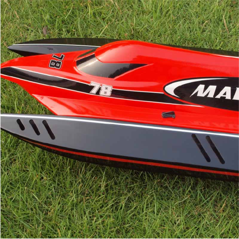 Front Side of ARTR F1 JW Engine Speed Boat Mad Flow 8603