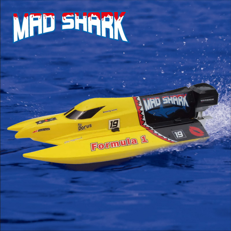 Brush Mini F1 Power Speed Boat Mad Shark - Joysway Hobby