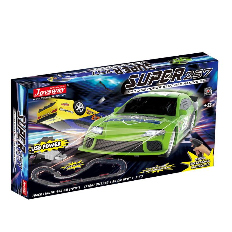 Joysway Super 152 USB Power Slot Car Racing Set
